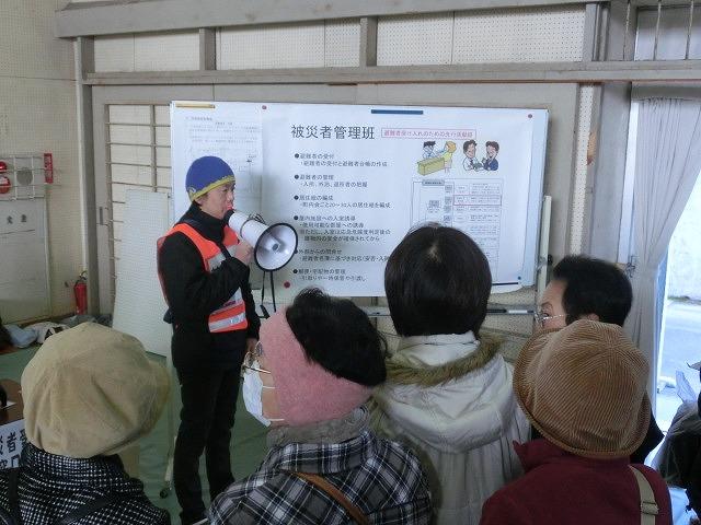 成果以上に課題が多かった 約450名が参加しての第2回吉原高校避難所開設・運営訓練_f0141310_831836.jpg
