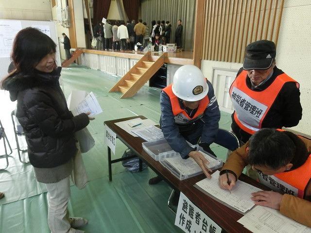 成果以上に課題が多かった 約450名が参加しての第2回吉原高校避難所開設・運営訓練_f0141310_841732.jpg