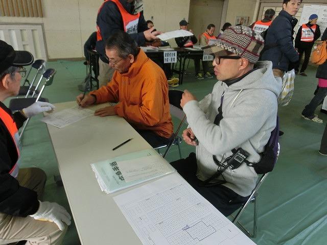 成果以上に課題が多かった 約450名が参加しての第2回吉原高校避難所開設・運営訓練_f0141310_842967.jpg