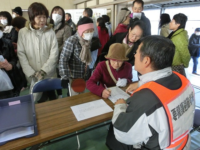 成果以上に課題が多かった 約450名が参加しての第2回吉原高校避難所開設・運営訓練_f0141310_852753.jpg