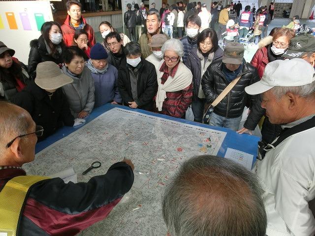 成果以上に課題が多かった 約450名が参加しての第2回吉原高校避難所開設・運営訓練_f0141310_875915.jpg