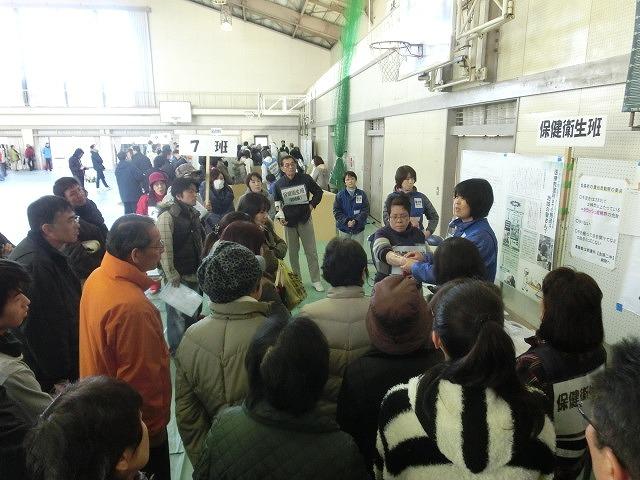 成果以上に課題が多かった 約450名が参加しての第2回吉原高校避難所開設・運営訓練_f0141310_884835.jpg