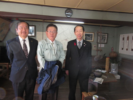 豊田市幸村副市長が懐古館に耒館されました。_b0204636_1683093.jpg