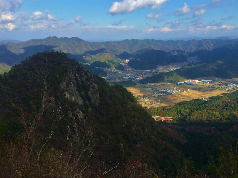 篠山三尾山 Mountain Running 2014/12/09_b0220886_19543355.jpg