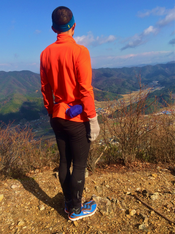 篠山三尾山 Mountain Running 2014/12/09_b0220886_20184970.jpg