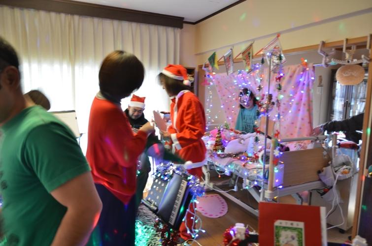 12月7日、クリスマスコンサート@Misakiちゃん宅♪_e0188087_21402268.jpg