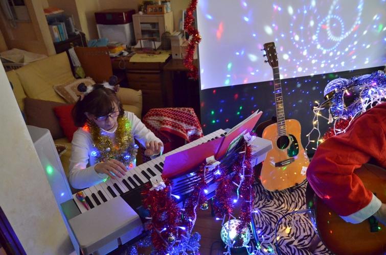 12月7日、クリスマスコンサート@Misakiちゃん宅♪_e0188087_2156461.jpg