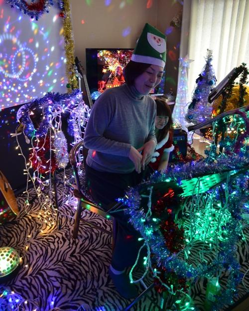 12月7日、クリスマスコンサート@Misakiちゃん宅♪_e0188087_2158733.jpg