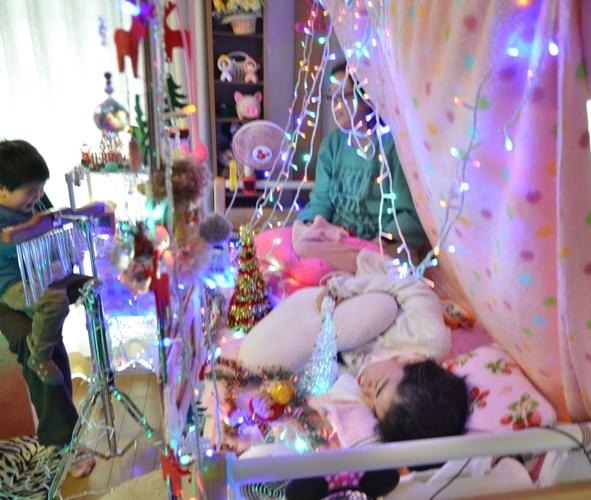 12月7日、クリスマスコンサート@Misakiちゃん宅♪_e0188087_22265972.jpg