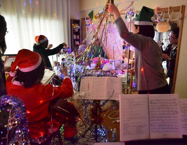 12月7日、クリスマスコンサート@Misakiちゃん宅♪_e0188087_22302593.jpg