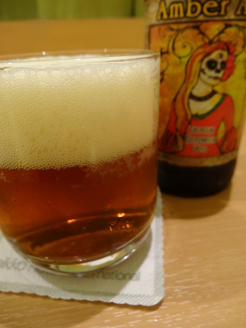 成田空港そばのウェルカムドリンク、ハロウィーン限定のメキシコのビール、楽しめました。_c0225997_21124921.jpg