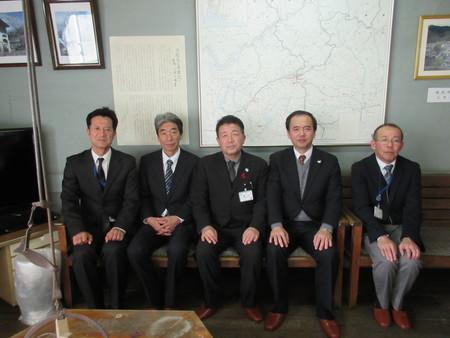 豊田市有田副市長懐古館に来館されました。_b0204636_14332560.jpg