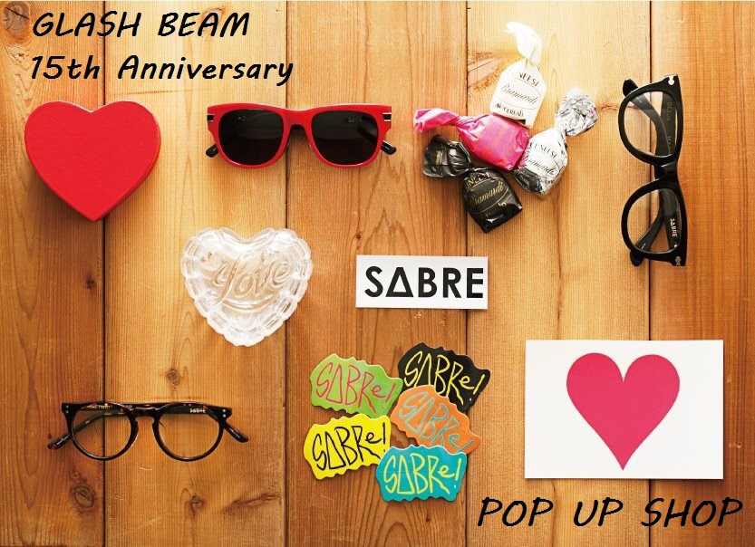 「SABRE PIXIE、FUDGE from GB 15th Anniversary POP UP SHOP」_f0208675_18385438.jpg