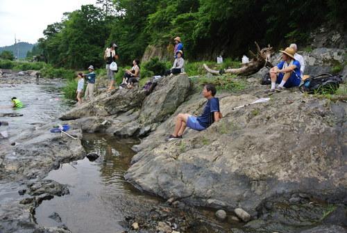 京北の川でおもいっきり川遊び_e0008880_14565237.jpg