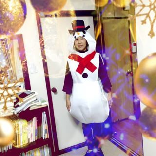 Snow man!_f0144003_21051385.jpg