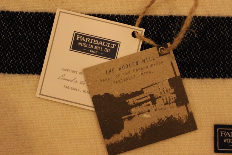 """THE FARIBAULT WOOLEN MILLS\"" MADE IN USA SCARF ご紹介_f0191324_8552380.jpg"
