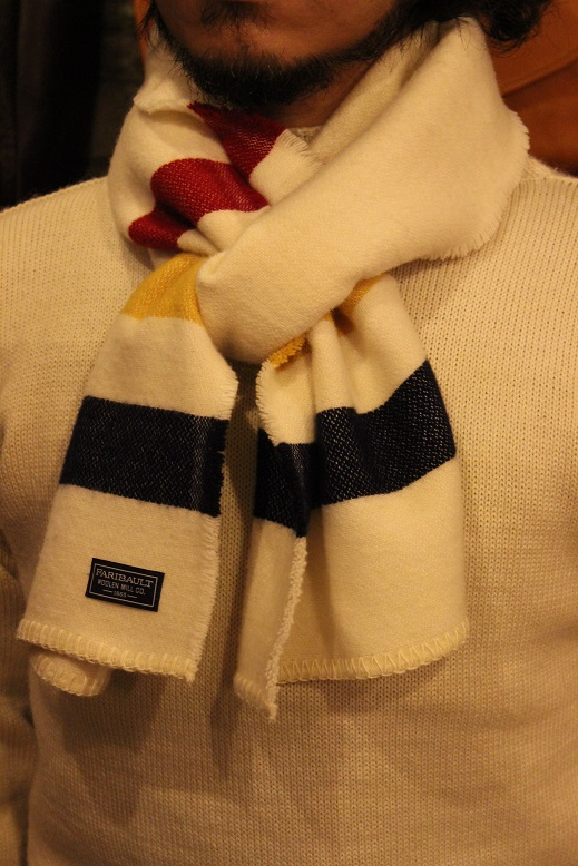 """THE FARIBAULT WOOLEN MILLS\"" MADE IN USA SCARF ご紹介_f0191324_855438.jpg"