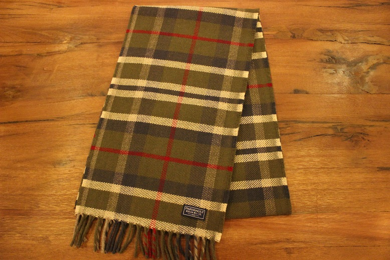 """THE FARIBAULT WOOLEN MILLS\"" MADE IN USA SCARF ご紹介_f0191324_8555944.jpg"