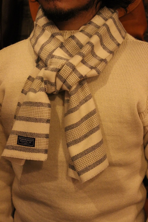"""THE FARIBAULT WOOLEN MILLS\"" MADE IN USA SCARF ご紹介_f0191324_8564612.jpg"