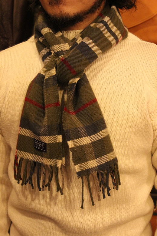 """THE FARIBAULT WOOLEN MILLS\"" MADE IN USA SCARF ご紹介_f0191324_856539.jpg"
