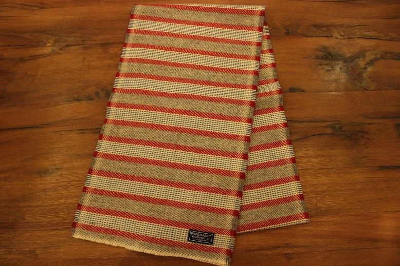 """THE FARIBAULT WOOLEN MILLS\"" MADE IN USA SCARF ご紹介_f0191324_8571841.jpg"