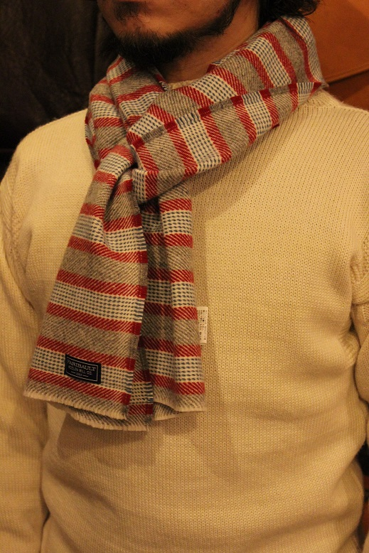 """THE FARIBAULT WOOLEN MILLS\"" MADE IN USA SCARF ご紹介_f0191324_8572412.jpg"