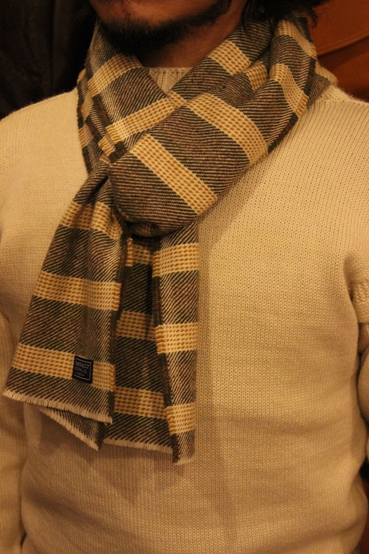 """THE FARIBAULT WOOLEN MILLS\"" MADE IN USA SCARF ご紹介_f0191324_8575134.jpg"