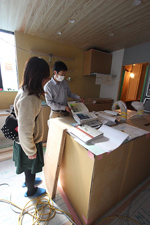 キッチンを囲む家_f0170331_1224814.jpg