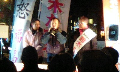 衆議院候補・鈴木たつお・阿佐ヶ谷駅南口_a0238678_12505920.jpg