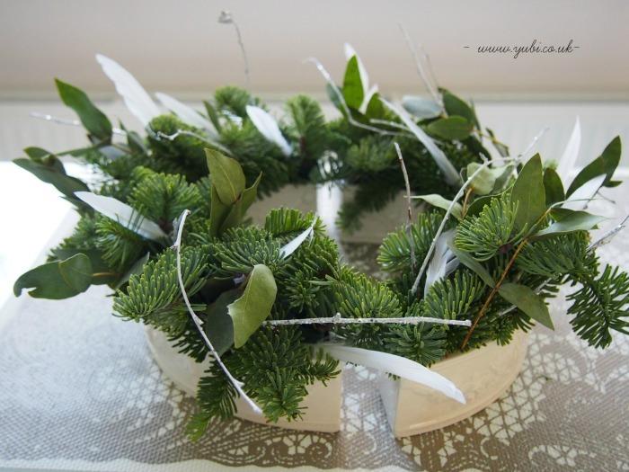 クリスマスリース作りました♪_b0313387_06195293.jpg