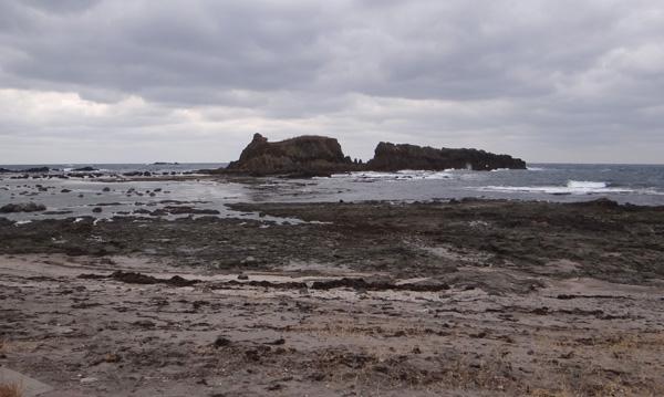初冬の西海岸ドライブ 風合瀬の海岸清掃のことなど_a0136293_17443035.jpg