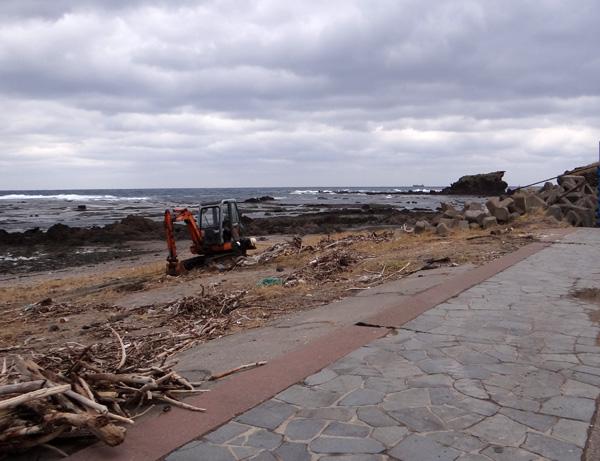 初冬の西海岸ドライブ 風合瀬の海岸清掃のことなど_a0136293_18564838.jpg