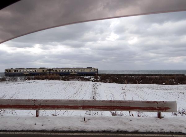 初冬の西海岸ドライブ 風合瀬の海岸清掃のことなど_a0136293_18593028.jpg