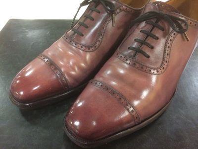 乾燥から完成まで〜ピンクS氏の靴編〜_d0166598_13302592.jpg