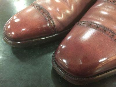 乾燥から完成まで〜ピンクS氏の靴編〜_d0166598_13302892.jpg