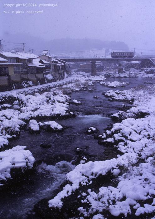 雪の日の西城川_d0309612_2264181.jpg