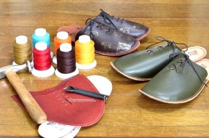 革の手縫いスリッパづくりのご案内(靴logiさん)_d0263815_1639571.jpg
