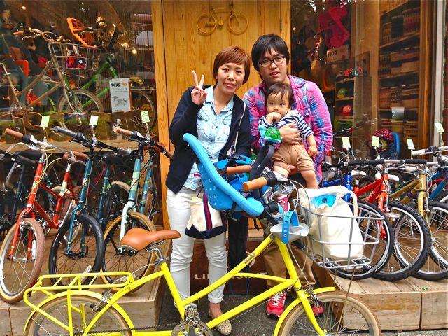 リピトの『バイシクルファミリー』Yepp ビッケ2e ハイディ ステップクルーズ bikke2 ママ 自転車 mama _b0212032_1843064.jpg