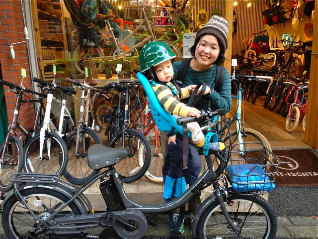リピトの『バイシクルファミリー』Yepp ビッケ2e ハイディ ステップクルーズ bikke2 ママ 自転車 mama _b0212032_18432665.jpg