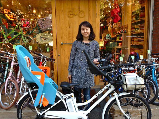 リピトの『バイシクルファミリー』Yepp ビッケ2e ハイディ ステップクルーズ bikke2 ママ 自転車 mama _b0212032_18445615.jpg
