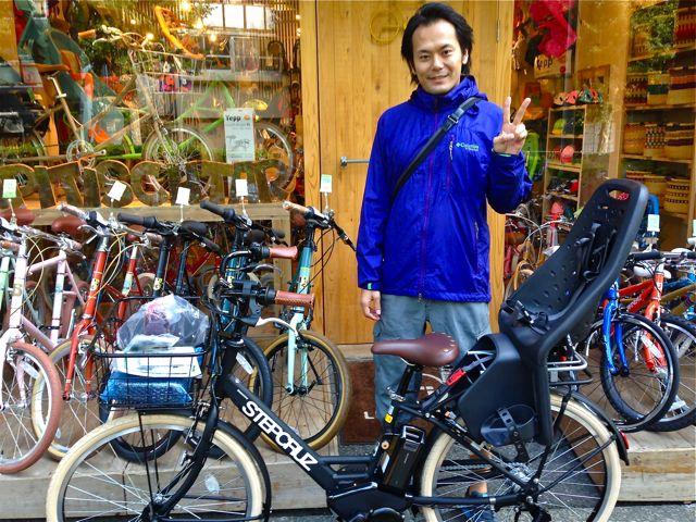 リピトの『バイシクルファミリー』Yepp ビッケ2e ハイディ ステップクルーズ bikke2 ママ 自転車 mama _b0212032_18492560.jpg