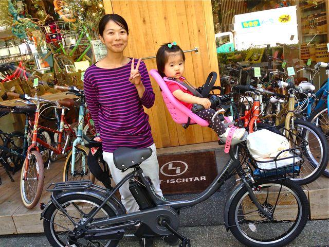リピトの『バイシクルファミリー』Yepp ビッケ2e ハイディ ステップクルーズ bikke2 ママ 自転車 mama _b0212032_18493712.jpg