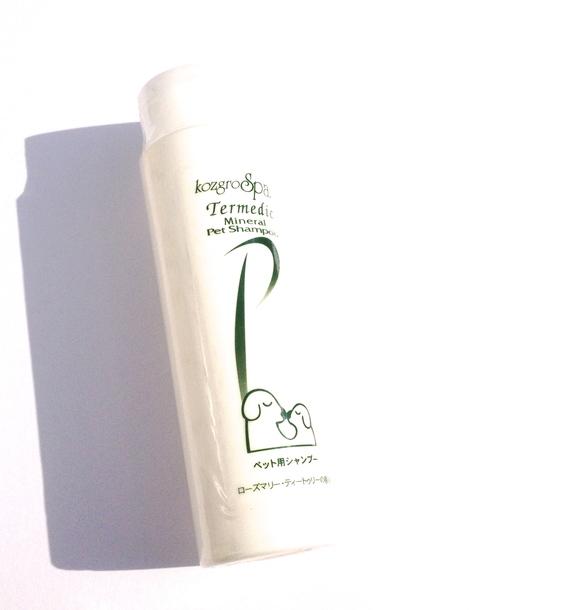 kozgro Spa Termedic Mineral Pet Shampoo  テルメディック ミネラル シャンプー_d0217958_11245445.jpg