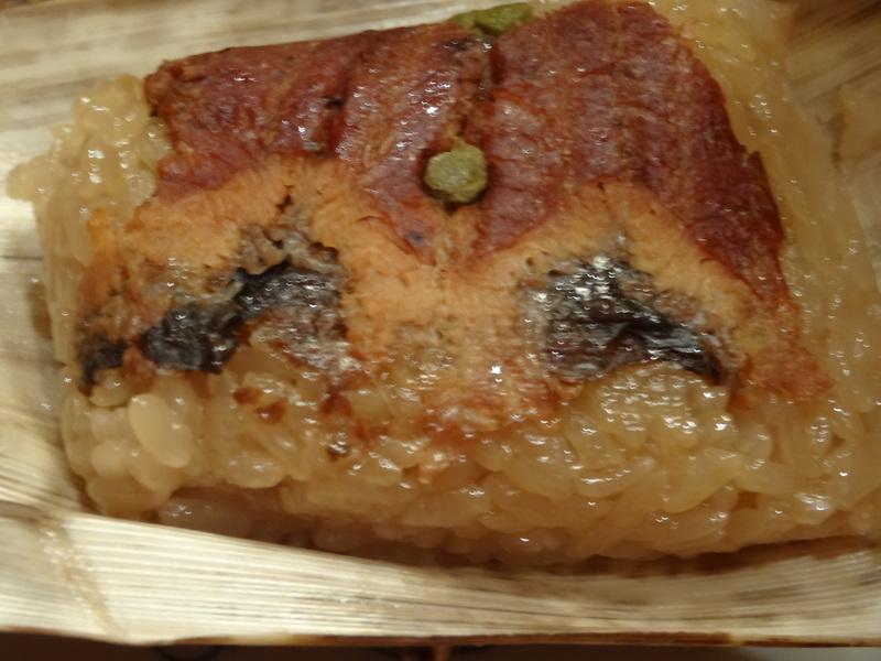 焼売、サーモンのカルパッチョ、ハムステーキ、鰻の飯蒸しです。_c0225997_1204222.jpg