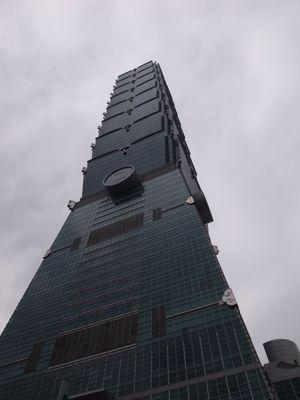 台北101タワーと麓の集落_d0147406_19242127.jpg