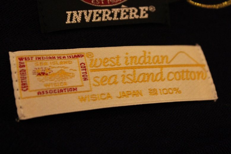 "INVERTERE ""SEA ISLAND COTTON\"" ITEM ご紹介_f0191324_9454130.jpg"