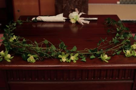 冬の装花 目黒雅叙園さまへ  トルコキキョウと胡蝶蘭_a0042928_22191538.jpg
