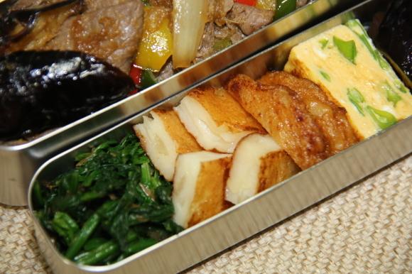 牛生姜焼き丼弁当_c0326245_11263729.jpg