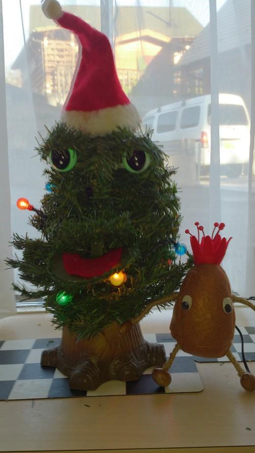 クリスマス仕様にしてみました_c0331145_22332367.jpg