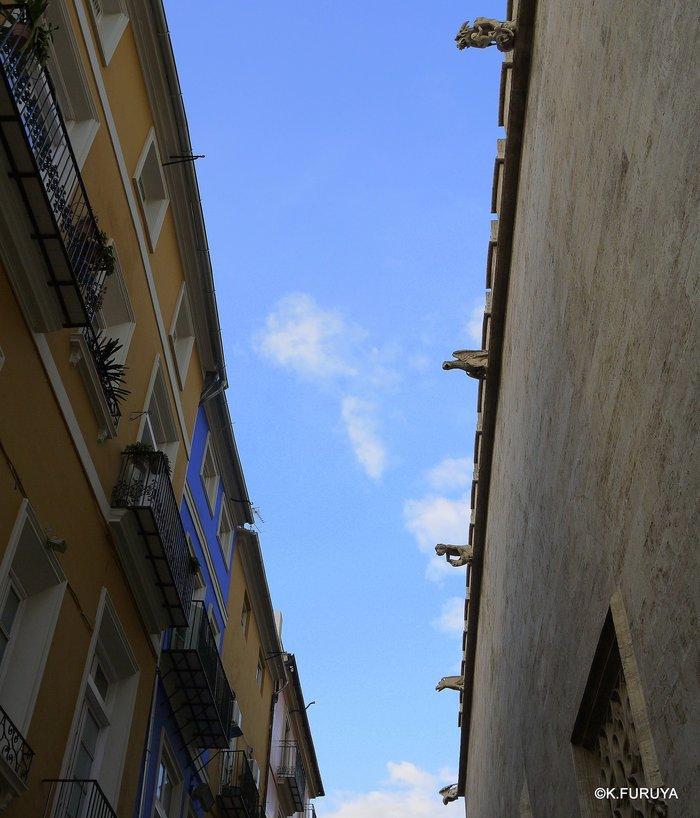 スペイン旅行記 18 バレンシア旧市街_a0092659_1817219.jpg